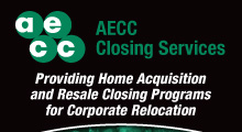 AECC Closing Services pop-up banner